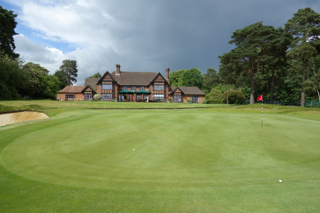 Clubhouse view from the 18th green
