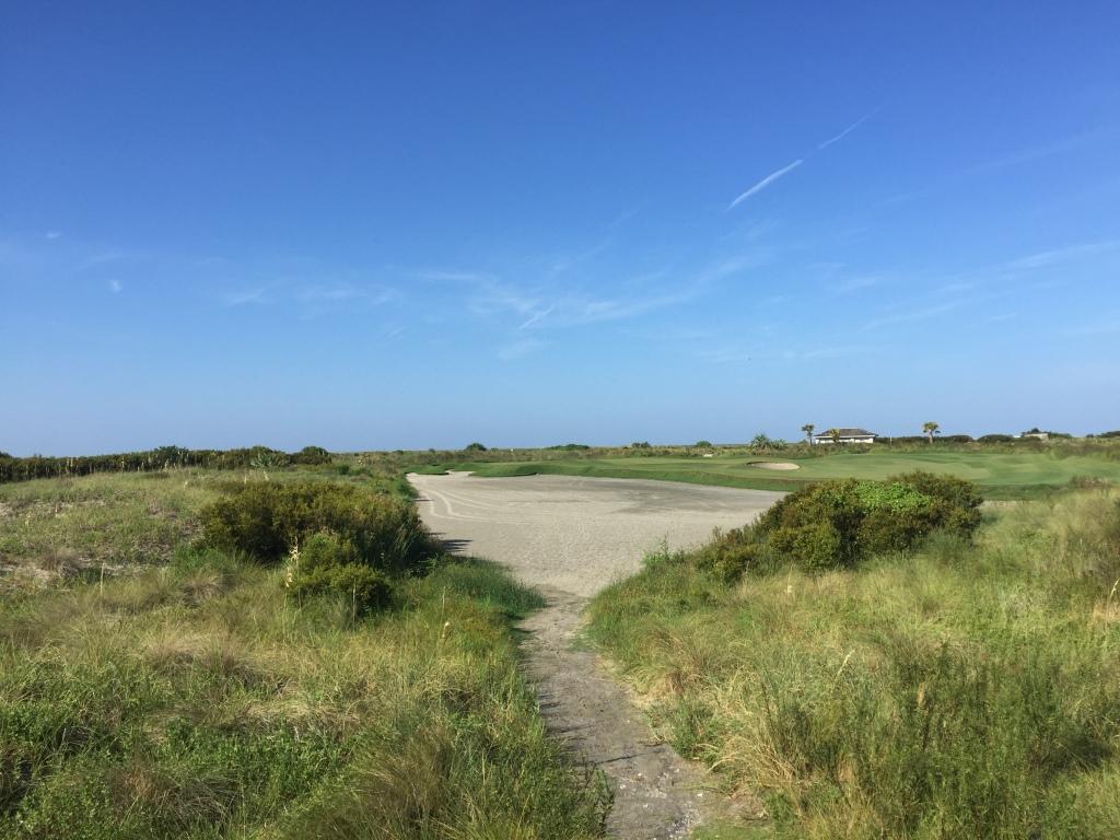 Hole 5, Par 3, 185 yards