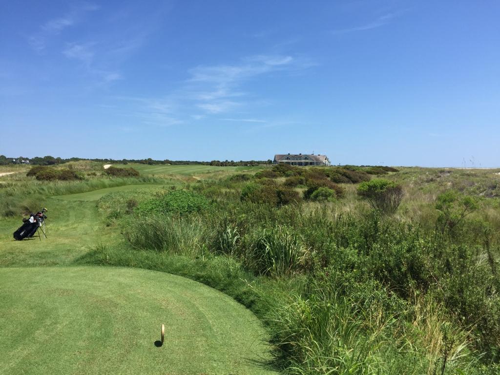 Hole 18, Par 4, 421 yards