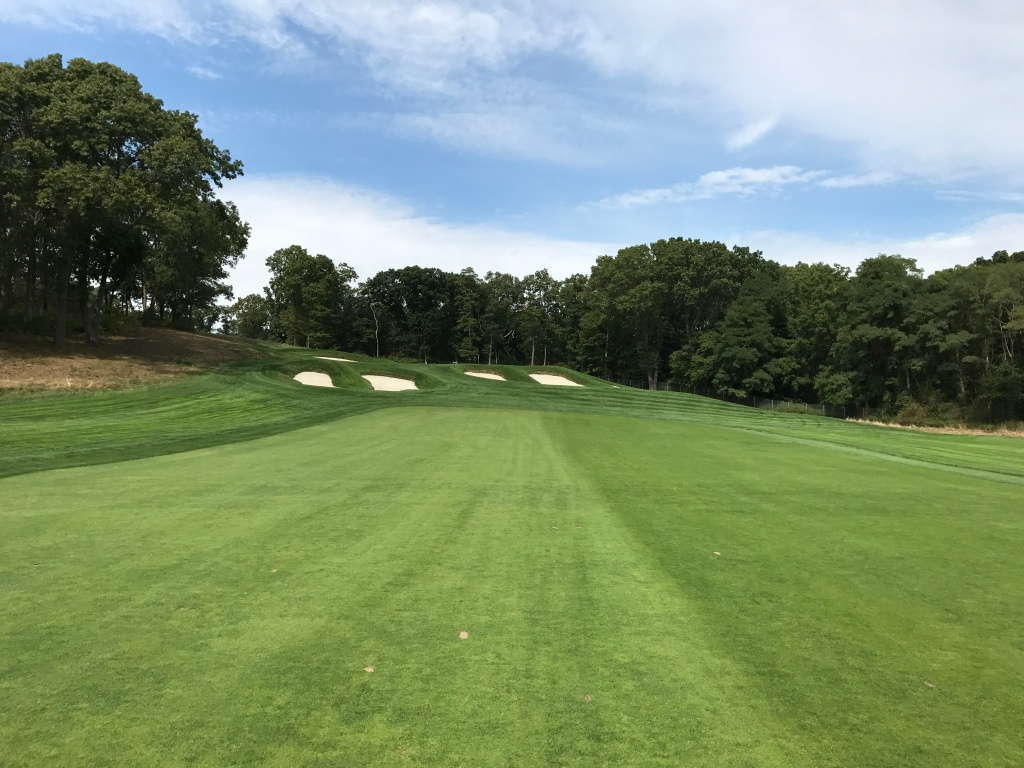 view from 15th fairway