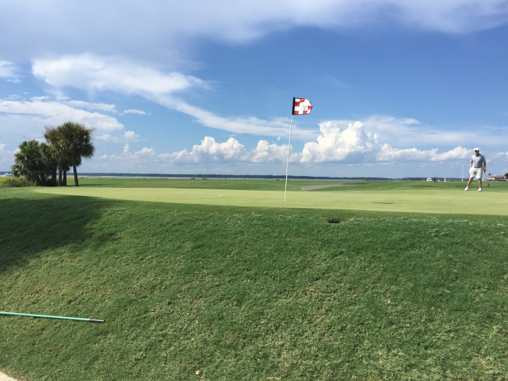 from the bunker on 17th