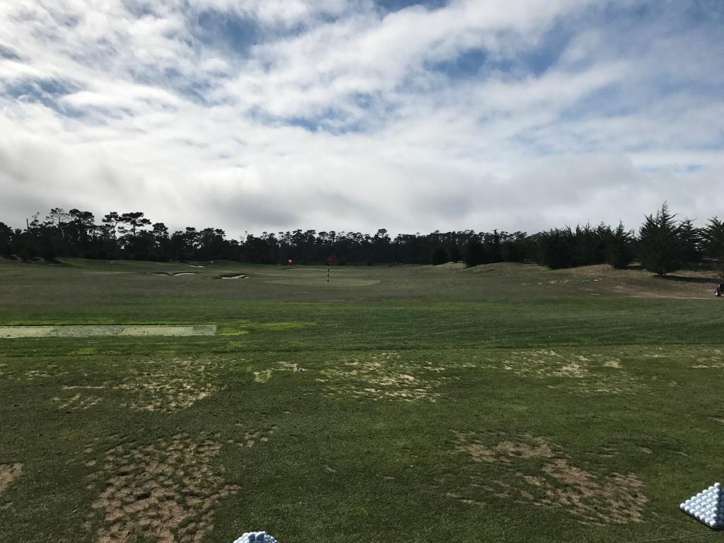 Pebble Beach driving range
