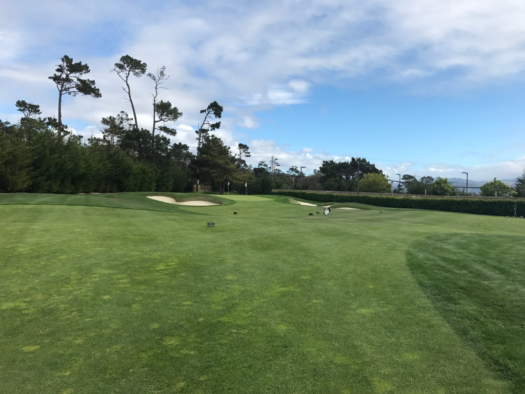 Pebble beach short game area