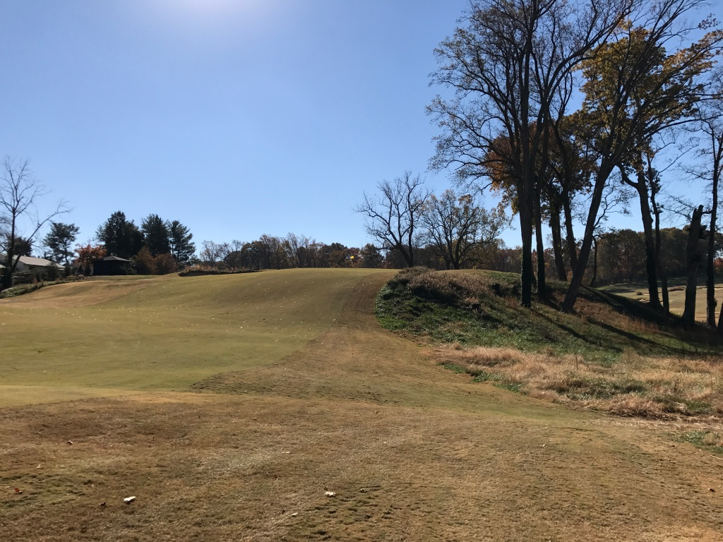 elavation up to 16th green