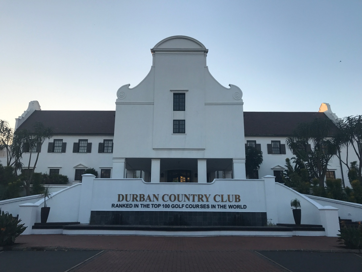 Durban Country Club South Africa My Golf Journal