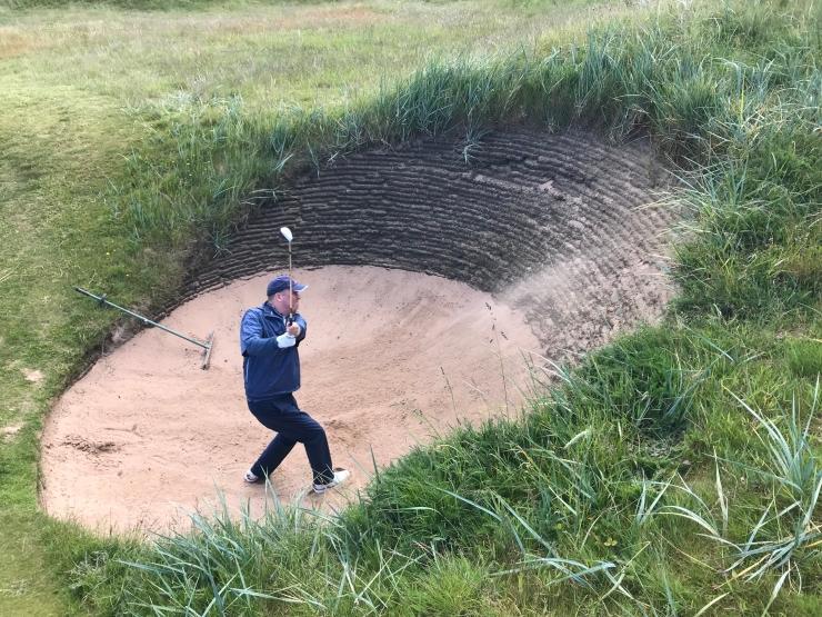 Royal lytham & st annes bunkers